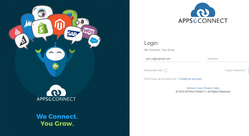Appseconnect login