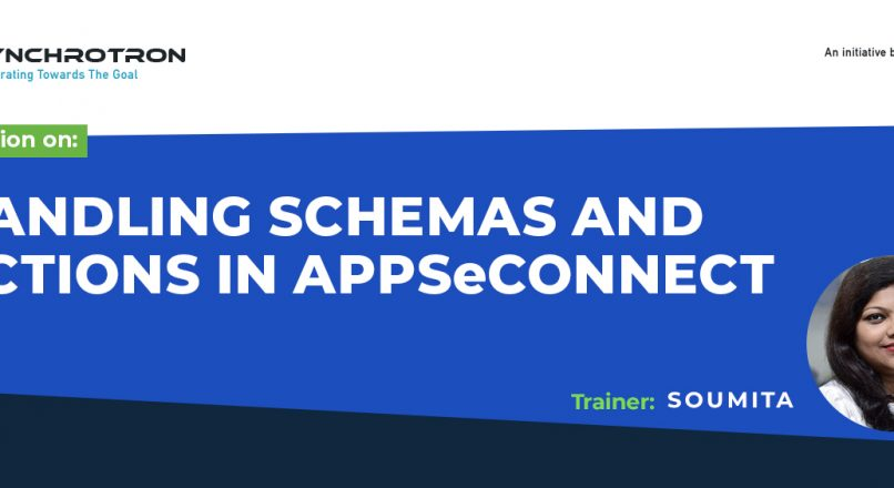 Sychrotron-HANDLING SCHEMAS AND ACTIONS IN APPSECONNECT